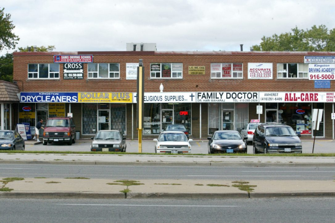 In Admiration Of The Shabby Scarborough Strip Plaza The